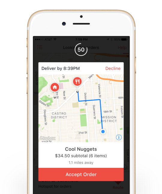 doordash driver app for android