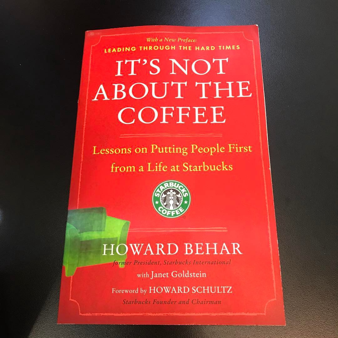 Some quotes from Starbucks alumni Howard Behar - Delivery ...