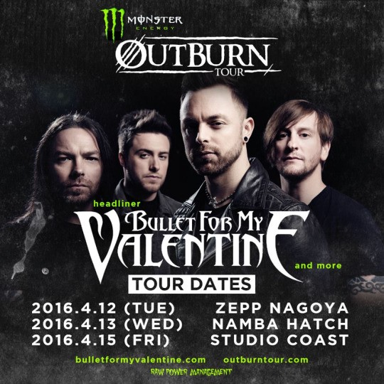 Bullet for my valentine Band - Venom : New Album, Songs, Lyrics