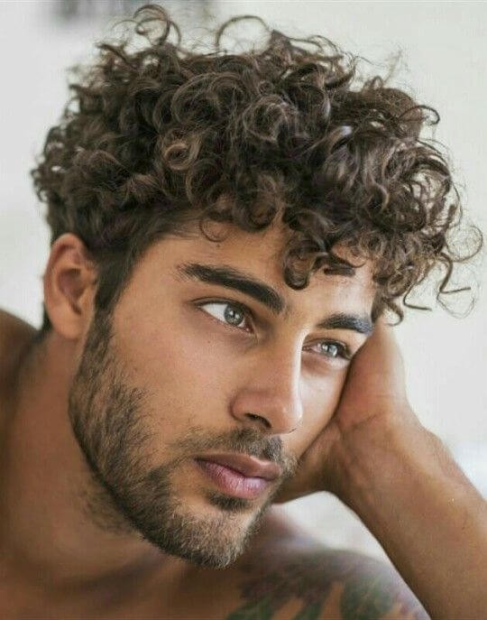 Pleasant Top 10 Trend Cool Curly Hairstyles For Men In 2018 Schematic Wiring Diagrams Phreekkolirunnerswayorg