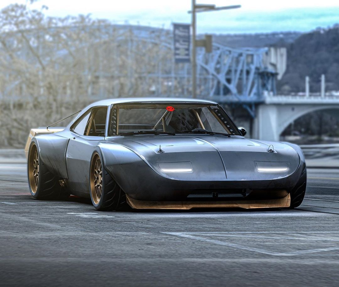What Do You Think Of This Dodge Charger Daytona Wildbody Virtual Build By Sam Maven Motorious Medium