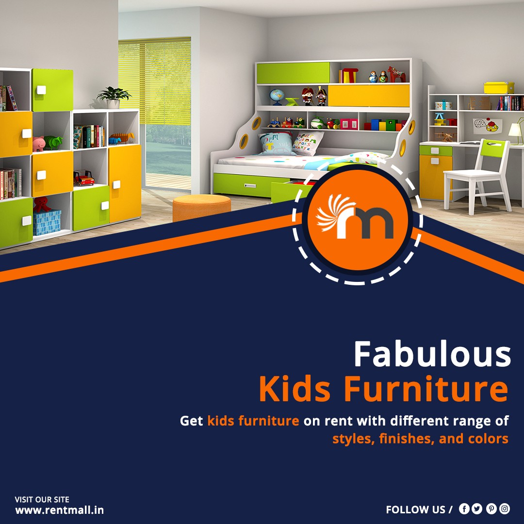 Fabulous Kids Furniture on Rent at the Best Price | by Rakesh
