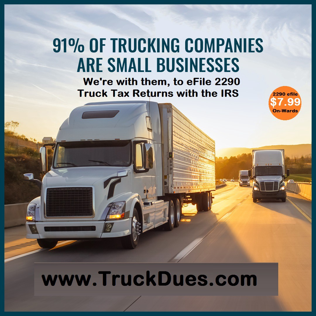 2290 Tax is Due Now for Tax Year 2020 | by TruckDues.com | truckdues | Medium