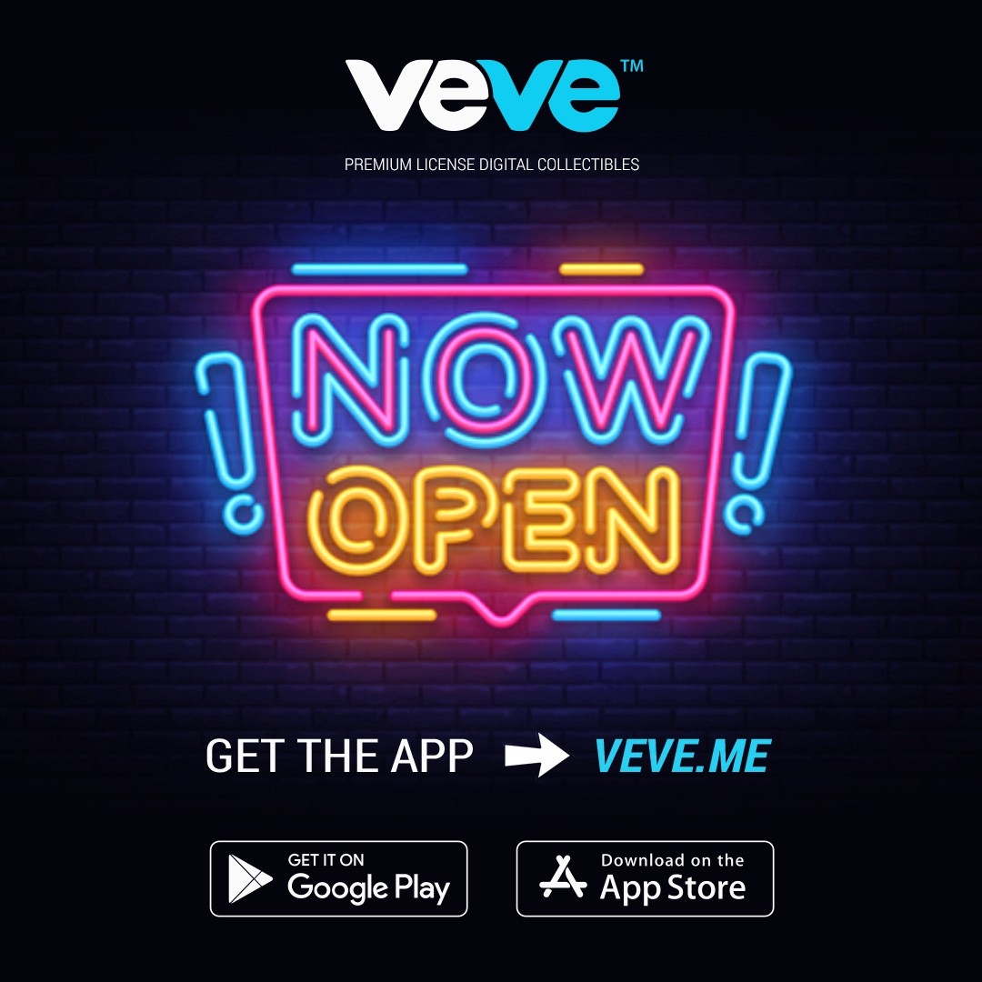 VeVe Is Officially Open To the Public!