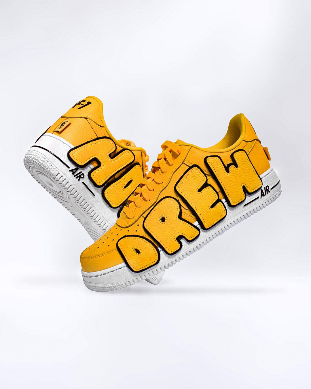 Drew House Custom Nike Air Force 1 Low By Jason Kovac By Jason