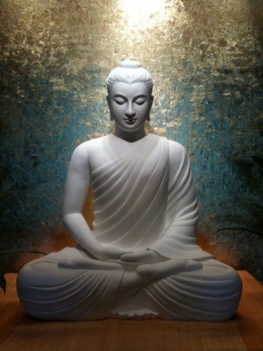 Image of Gautam Buddha in meditative state