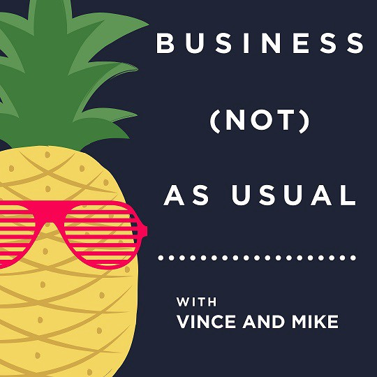 Business not as usual podcast logo