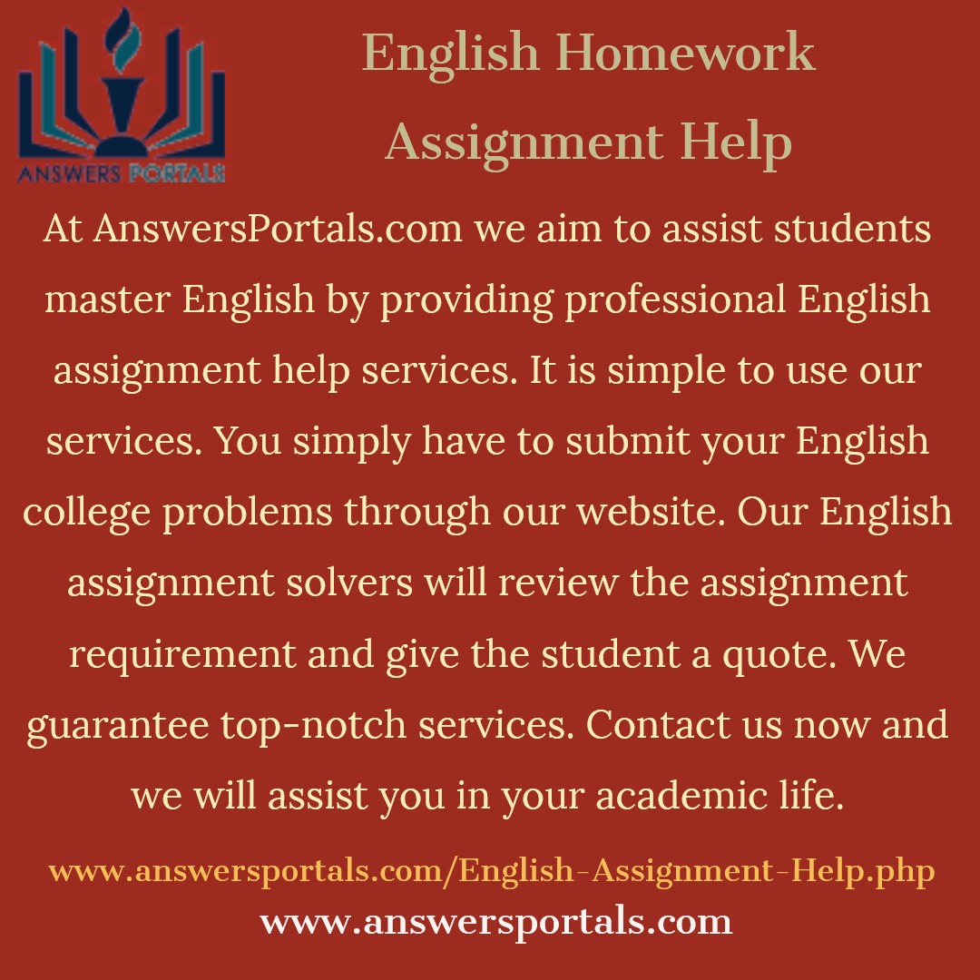 Homework Help And Answers
