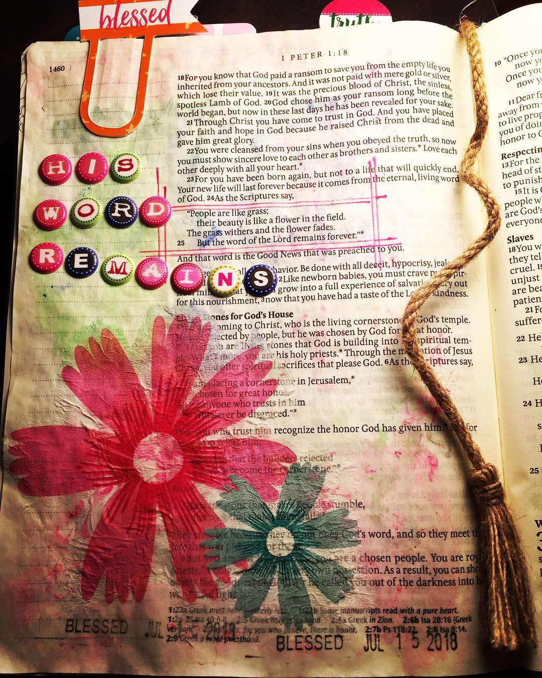 Why I draw on the pages of my Bible - Yvette Walker - Medium