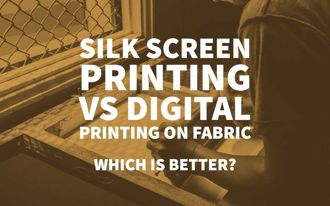 photo regarding Printable Silk Fabric called Silk Show Printing Vs Electronic Printing upon Material - Inkbot