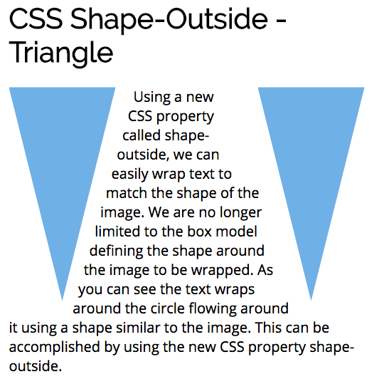 Think outside the box with CSS shape-outside - codeburst
