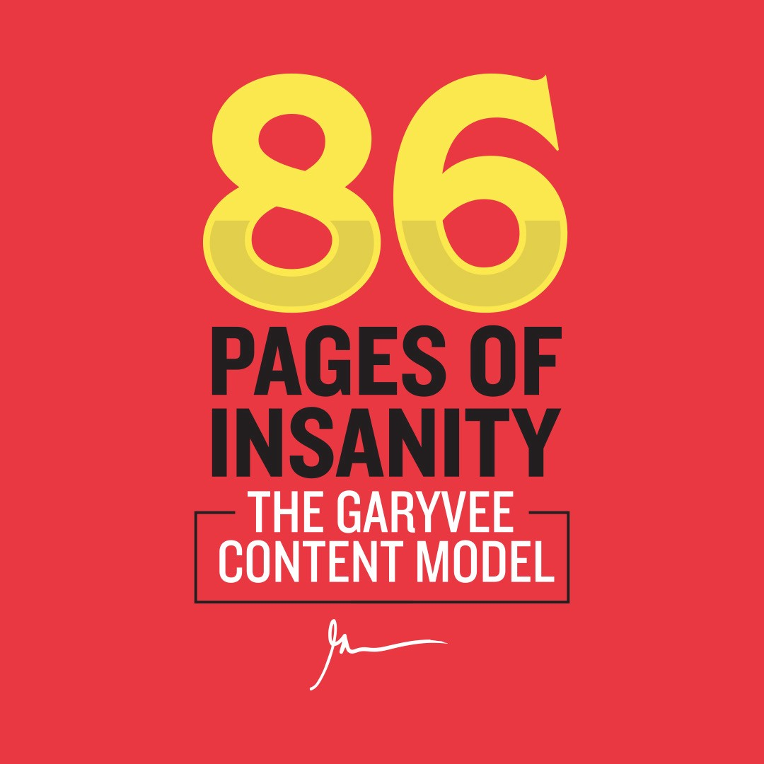 The Garyvee Content Strategy How To Grow And Distribute Your Brand S Social Media Content By Gary Vaynerchuk Mission Org Medium