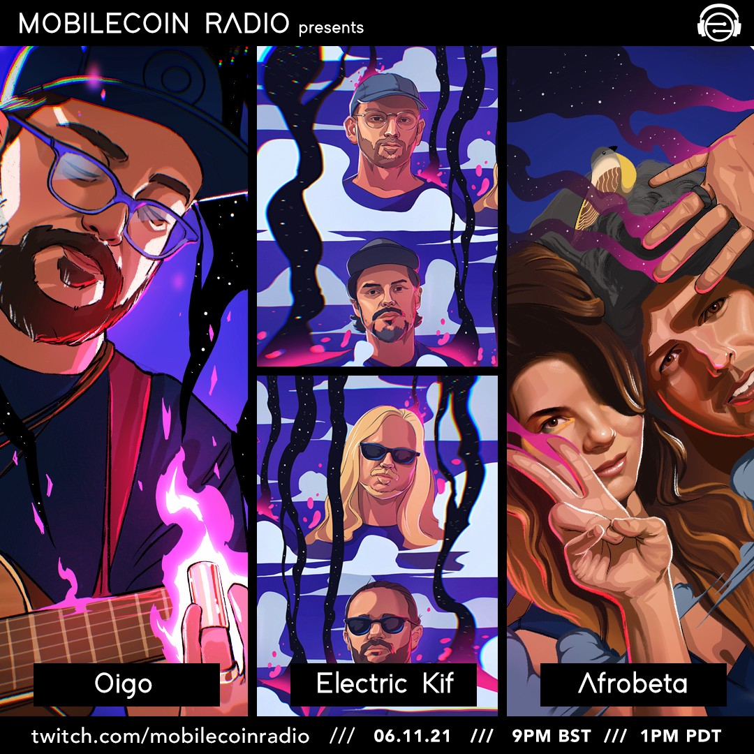 Listen to MobileCoin Radio this afternoon