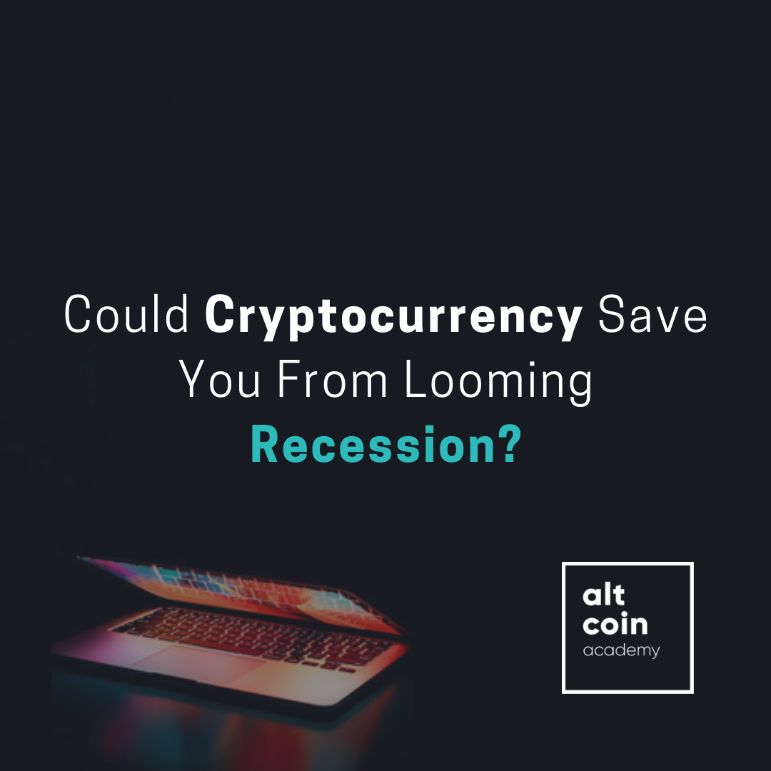 Is cryptocurrency causing a recession