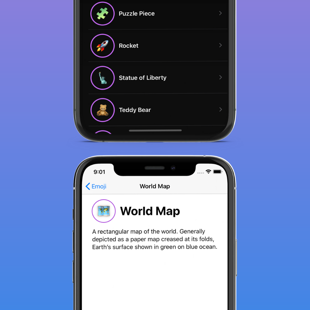 SwiftUI Tutorial—Lists and Navigation