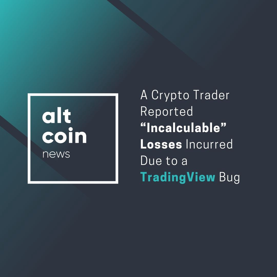 """Altcoin Trader altcoin news: a crypto trader reported """"incalculable"""" losses"""