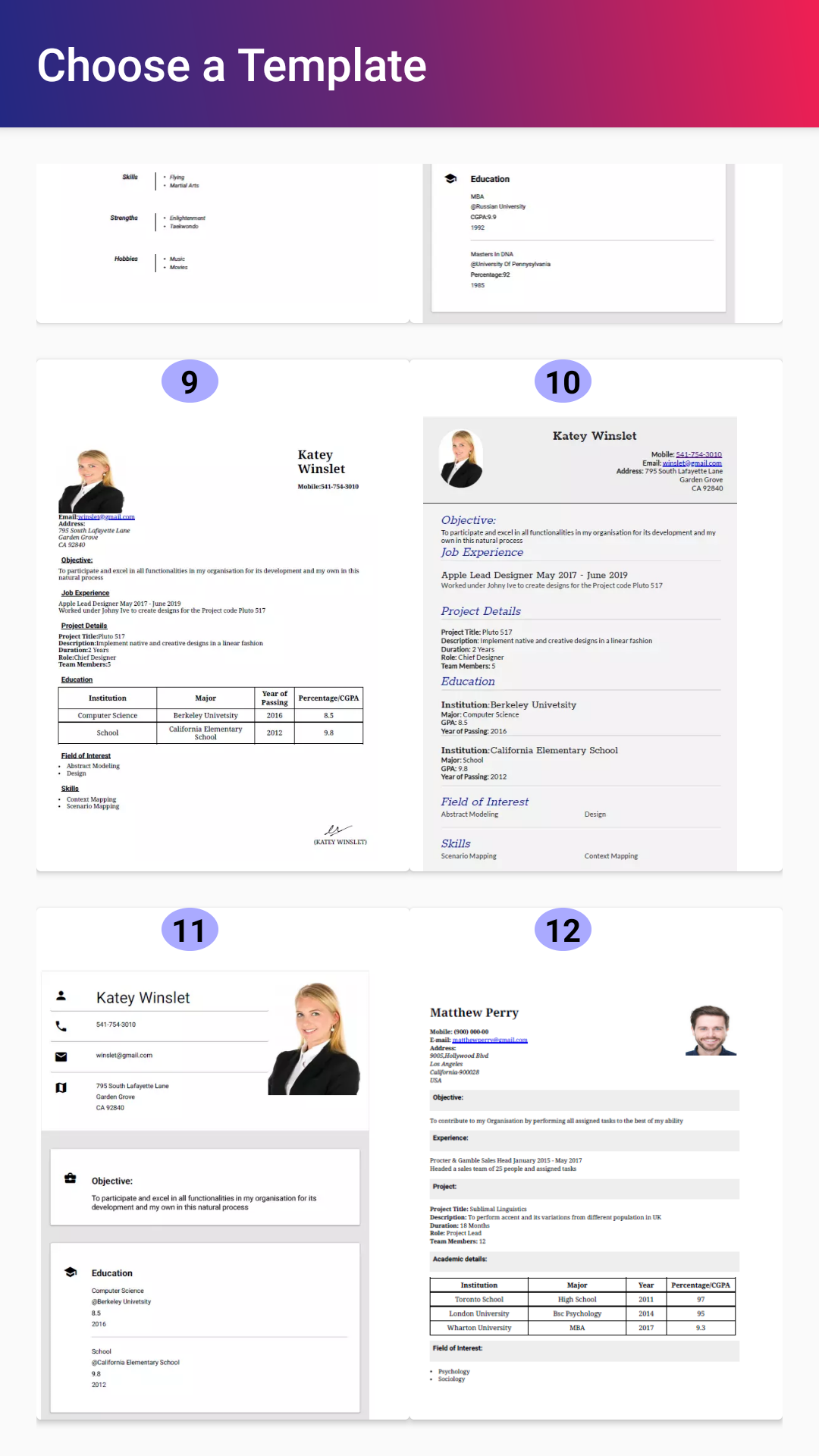 Free Resume Builder Apps You Have To Try In 2019 By Nick Rubin Medium