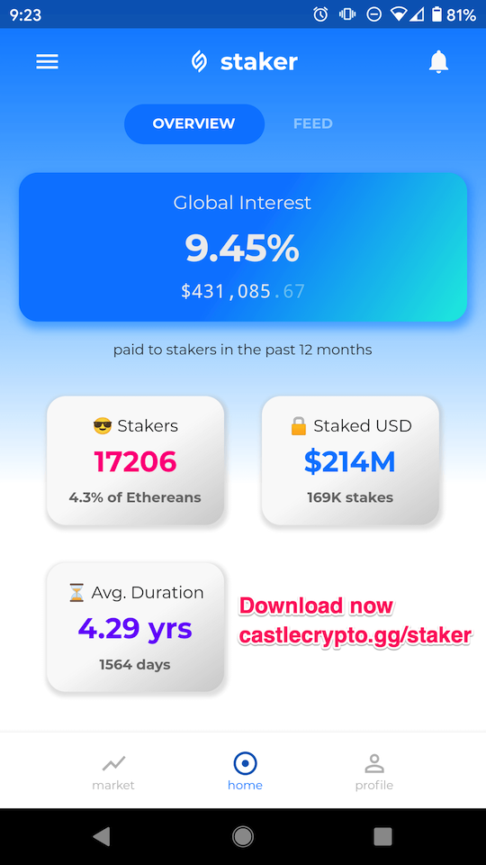 staker app for HEX