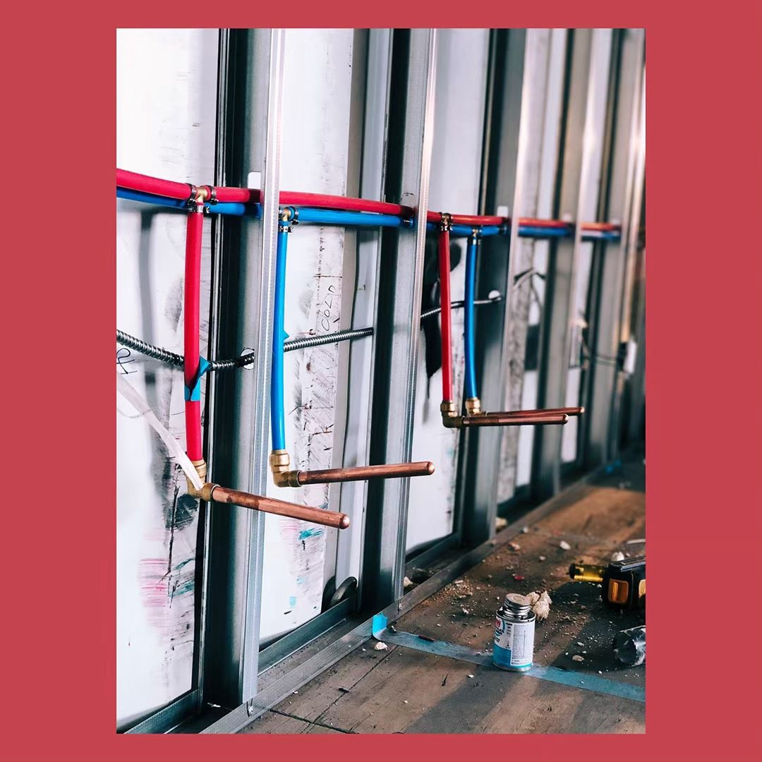 Container Rough Plumbing Successes and PEX Wins - Refactory