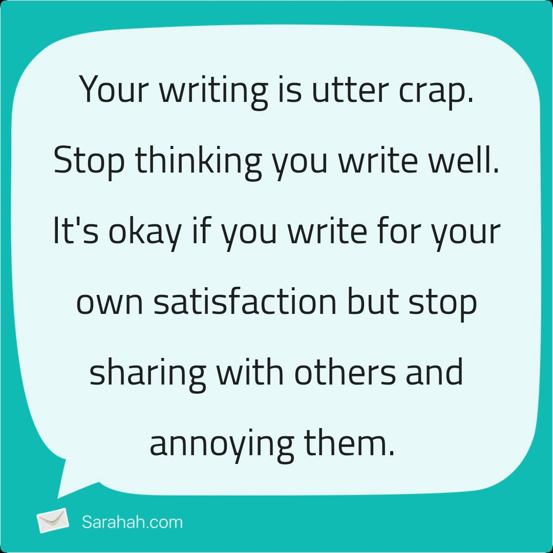 Sarahah: A Nice App - Be Yourself