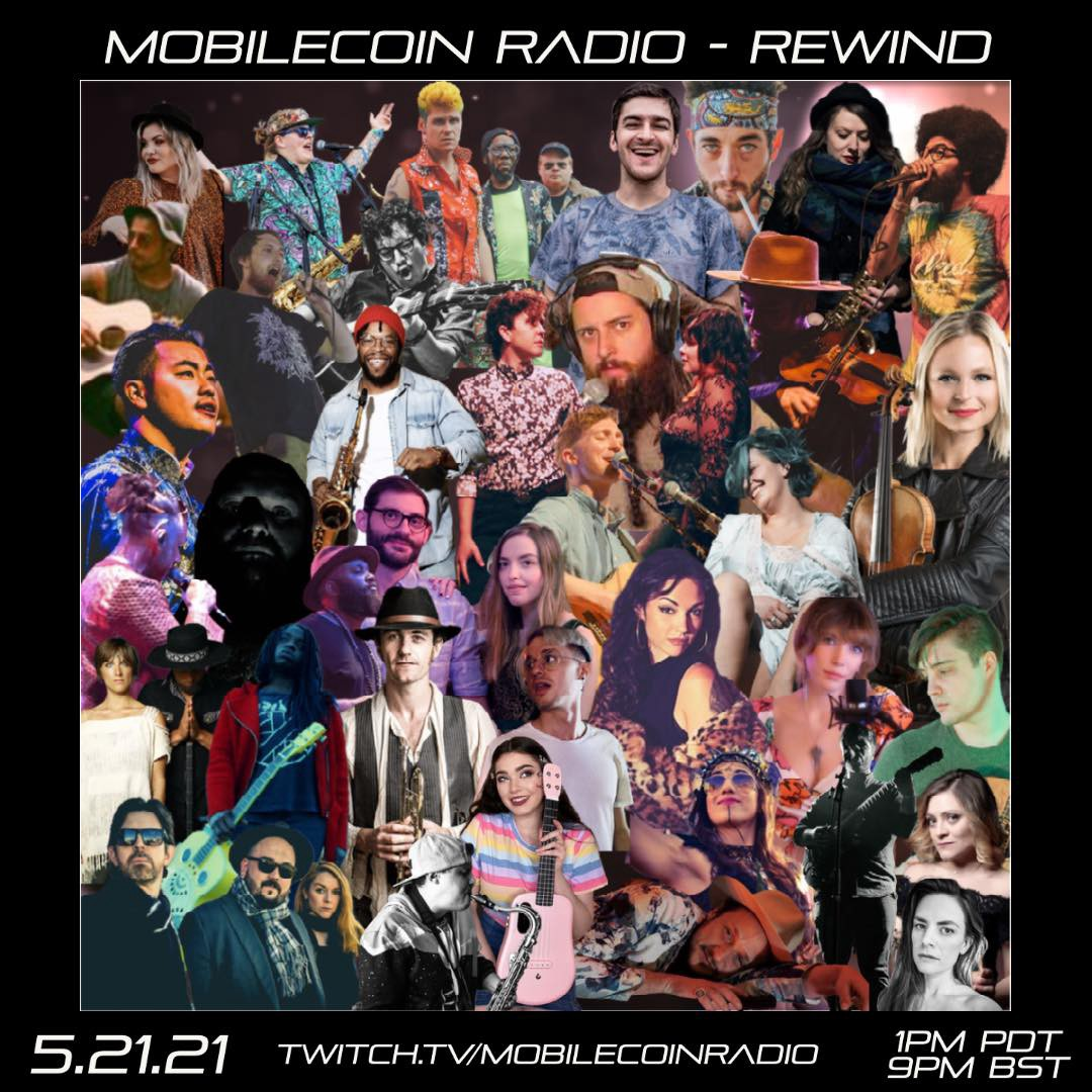 MobileCoin Radio-Rewind goes live this afternoon!