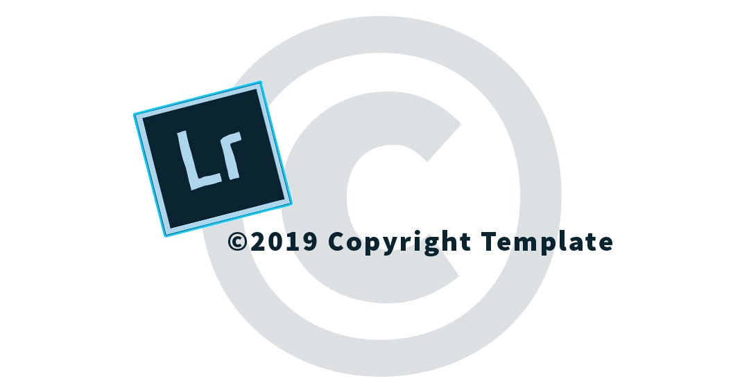 How to create copyright symbol in lightroom