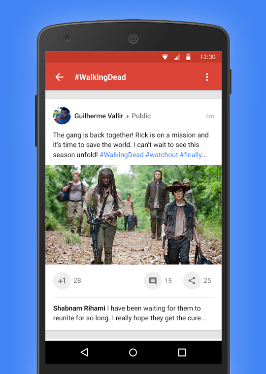 Using full width cards to maximize content - AndroidPub