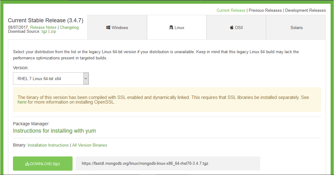 How to install MongoDB and make it run automatically at
