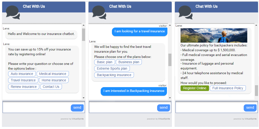 Insurance Chatbot — 4 Online Insurance Challenges and How to