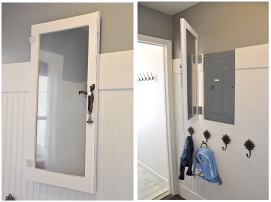 DIY Ways to Hide an Access Door or Electrical Box | by Williams Brothers  Corp | Medium | Wooden Framed Doors Over Fuse Box |  | Medium