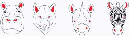 the four classic animals of product management; hippo, wolf, rhino, zebra