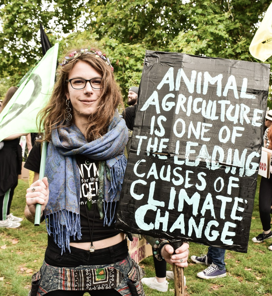 Animal Agriculture is one of the leading causes of climate change