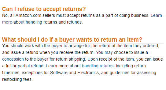 How to Handle Amazon Returns When the Buyer is at Fault