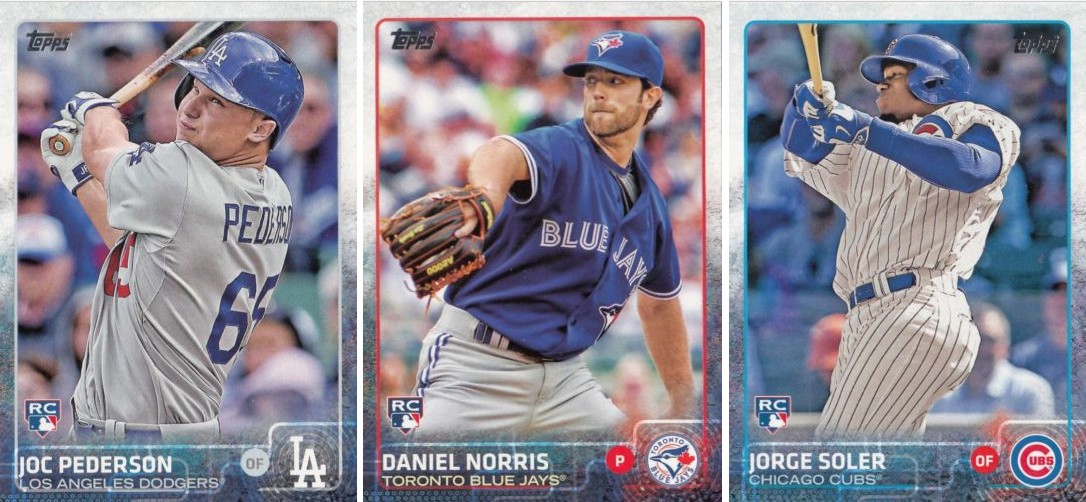 Prospects Featured In 2015 Topps Series 1 Cards Milbcoms