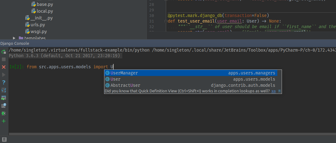 Advanced PyCharm: Debugging from PyDev console - Anton