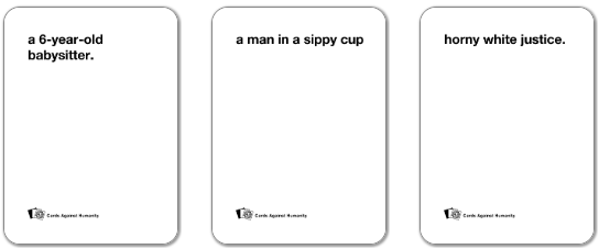 Cards Against Humanity Karten