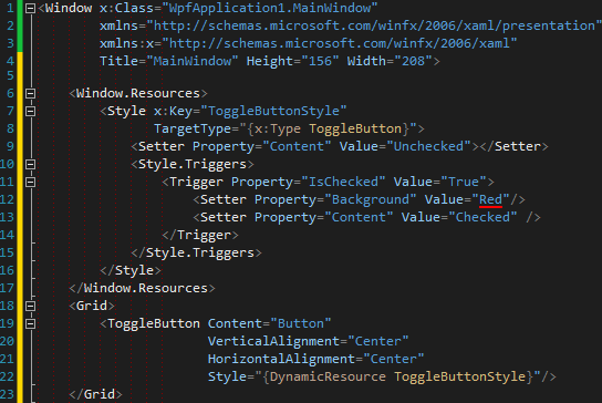 Customising Controls with WPF — Part II Templates and triggers (How