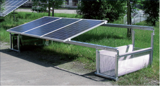 Installation of Small Scale Ground Solar PV Systems and Recommended