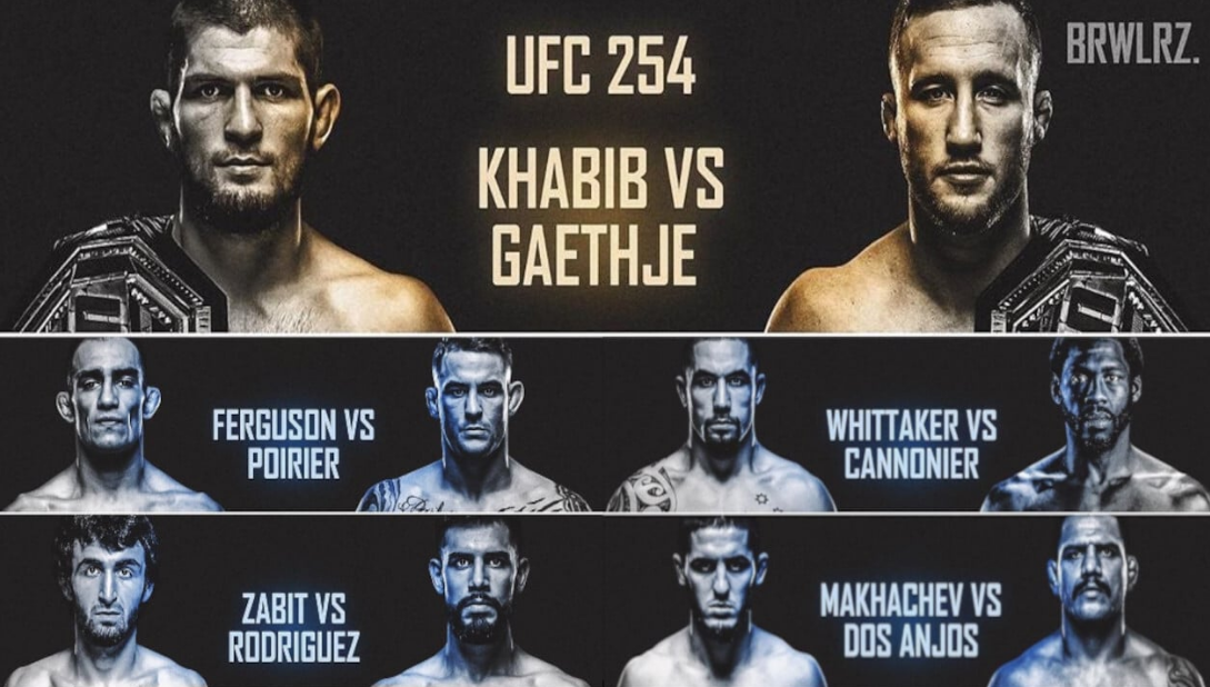 UFC 254 — KHABIB VS GAETHJE - LIVE STREAMING on ESPN 2 | Khabib vs Gaethje UFC 254 on ESPN 2