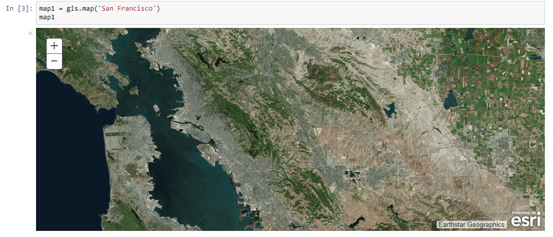 Some thoughts on the ArcGIS API for Python 1 3 - Eric van