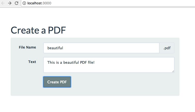 Generating a PDF with Express & Node JS - jsComplete