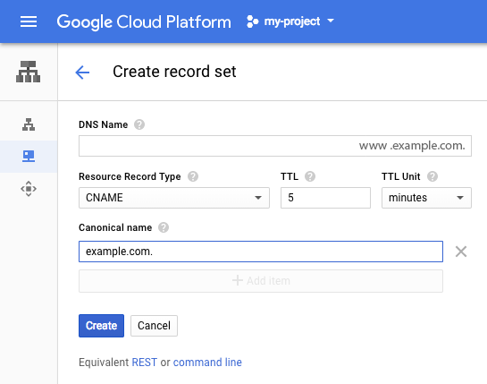 GCP Cloud DNS: transfer your GoDaddy DNS to Google Cloud DNS with ...