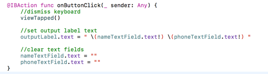 Getting what the user typed — iOS #7 - appsandbiscuits