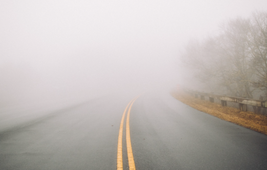 disappearing roads