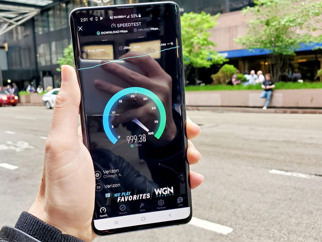 Galaxy S10 5G's 1Gbps Verizon data speeds - Faraz Abbas - Medium