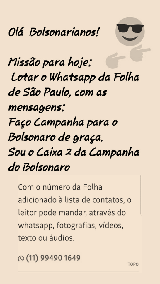 ElectionWatch: What Was Up with WhatsApp in Brazil?