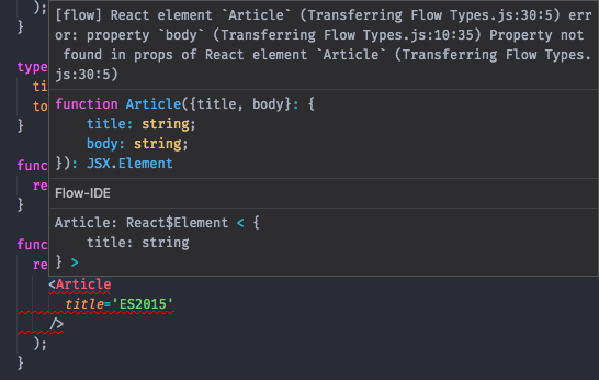 Type-checking React and Redux (+Thunk) with Flow — Part 1