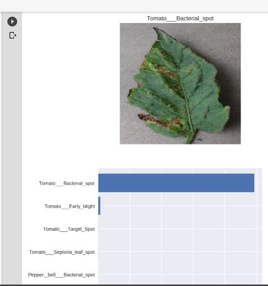 Creating an AI app that detects diseases in plants using Facebook's