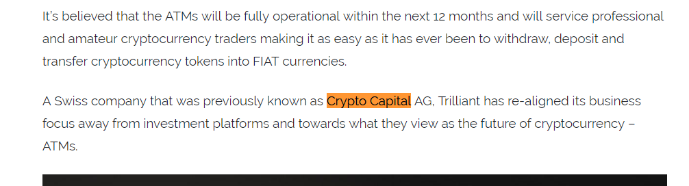 SEC Incompetence Allows Crypto Capital Co  to Defraud Investors Out