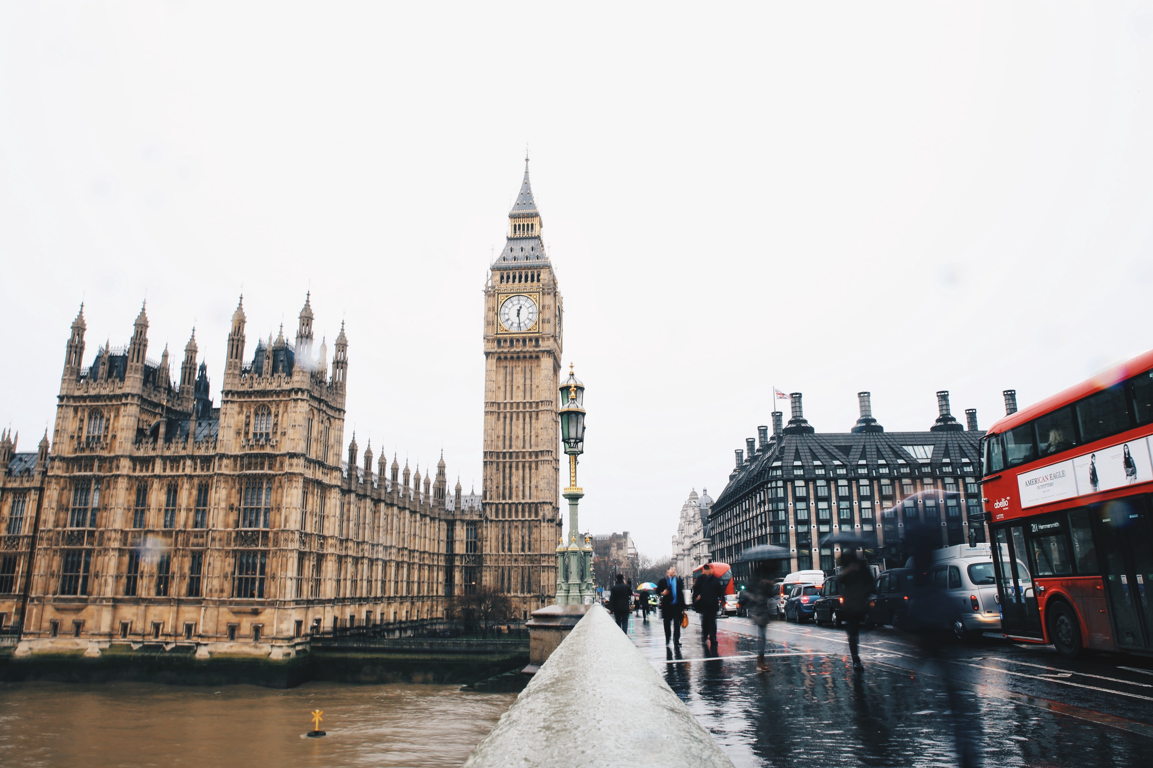 The Houses of Parliament, a so-called dead parliament